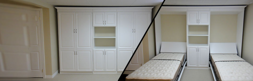 Two Murphy Wall Beds